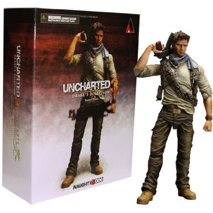 Uncharted 3 Play Arts Kai Non Scale Pre-Painted PVC Figure: Nathan Drake