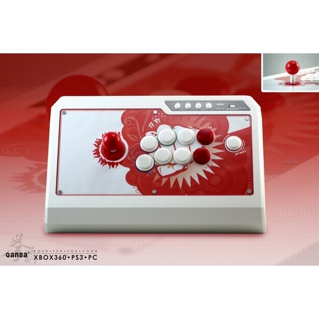 Qanba Q4 Real Arcade Fightingstick (White Edition)