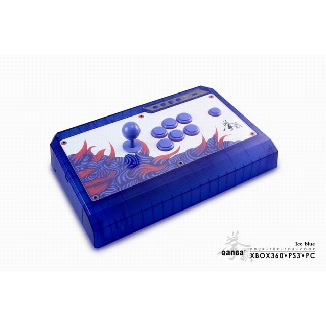 Qanba Q4 Real Arcade Fightingstick (Ice Blue Edition)