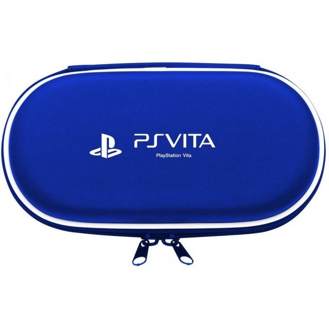 Hard Pouch for PlayStation Vita (Blue)
