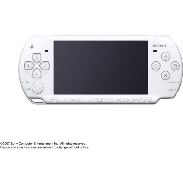 PSP PlayStation Portable Slim & Lite - Pearl White (PSP-3000PW)