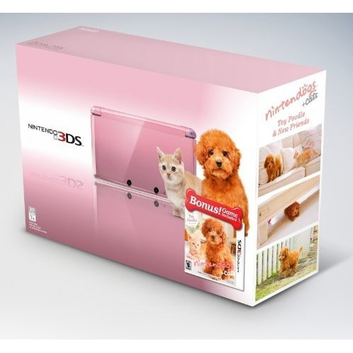 Nintendo 3DS Bundle (Nintendogs + Cats: Toy Poodle & New Friends)