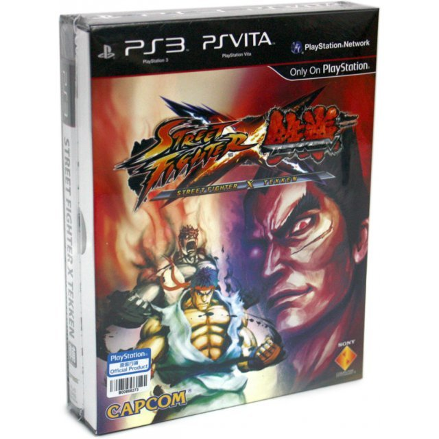Street Fighter X Tekken (PS3 & PSV Crossover Platform Versions) (Chinese & English Version)