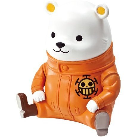 One Piece Chara Bank Animal Series Non Scale Pre-Painted Figure: Bepo