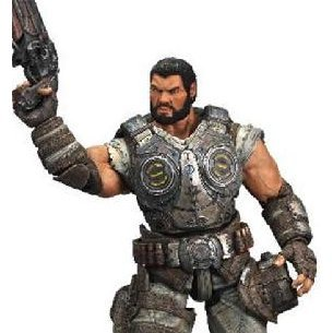 Gears of War 3 Series 2 Pre-Painted Action Figure: Dominic Santiago