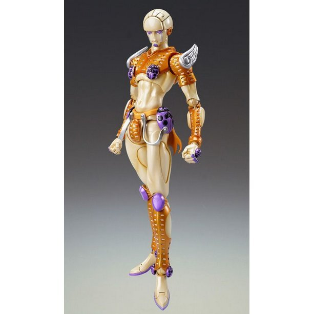 Super Figure JoJo's Bizarre Adventure Part 5 #38 Non Scale Pre-Painted PVC Figure: Gold Experience (Hirohiko Araki Specify Color)