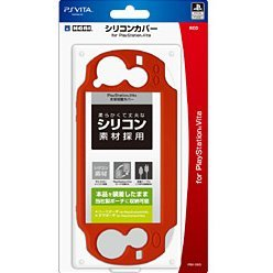 Silicon Cover for PlayStation Vita (Red)