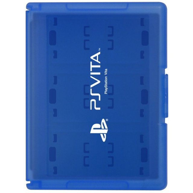 Card Case 12 for PlayStation Vita (Blue)