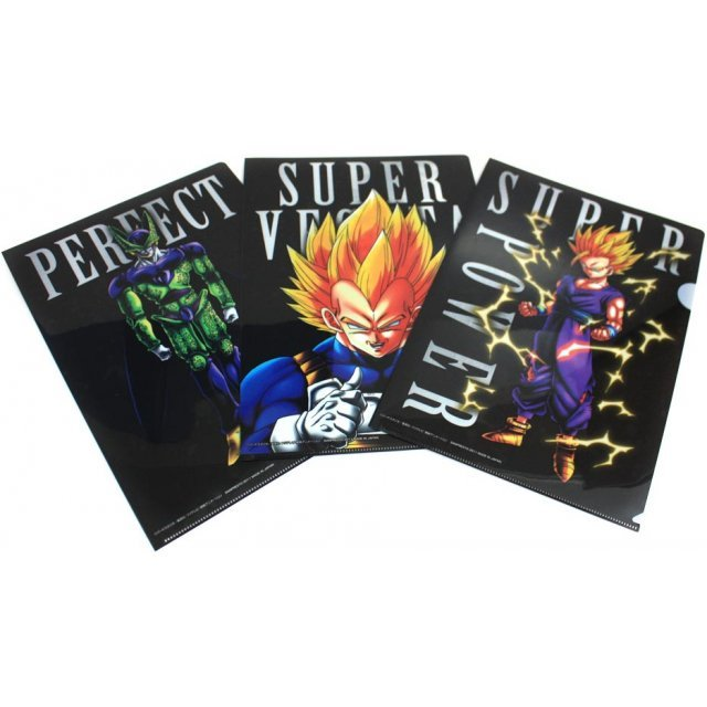 Dragon Ball Kai Ichiban Kuji Clear Files Set Asst 1