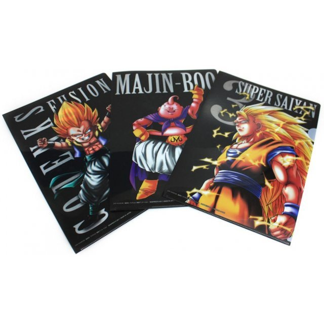 Dragon Ball Kai Ichiban Clear Files Set Asst 2