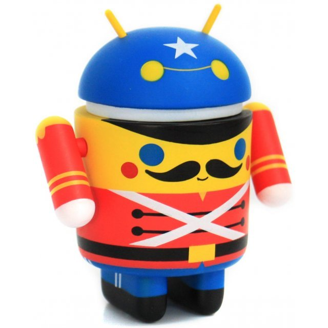 Google Android Non Scale Pre-Painted Vinyl Mini Collectible Series Special Edition: Toy Soldier