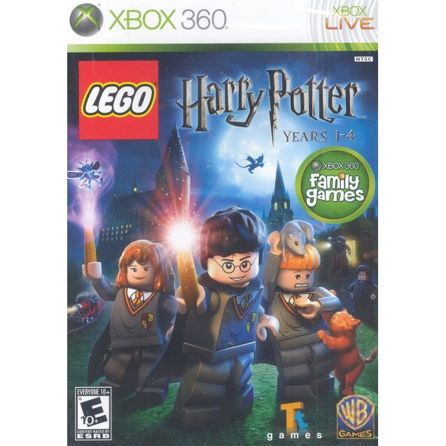LEGO Harry Potter: Years 1-4 (Case Broken)