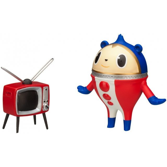 Twin Pack Persona 4 Non Scale Pre-Painted PVC Figure: Teddie and TV