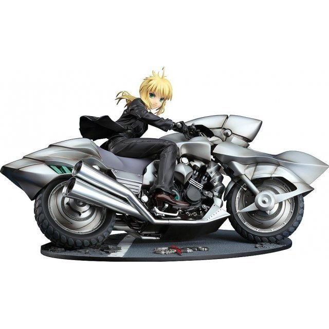 Fate/Zero 1/8 Scale Pre-Painted PVC Figure: Saber & Saber Motored Cuirassier (Re-run)