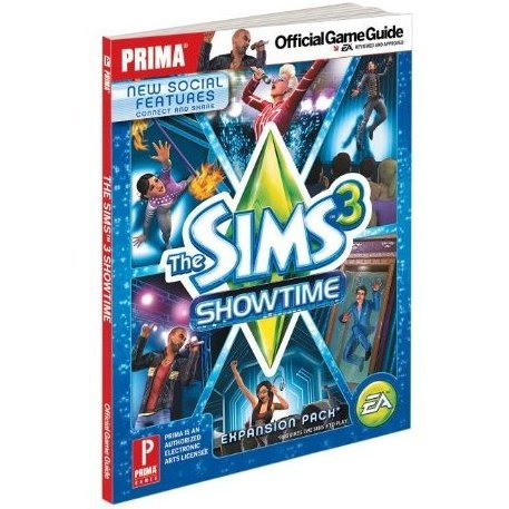 Sims 3 Showtime: Prima Official Game Guide