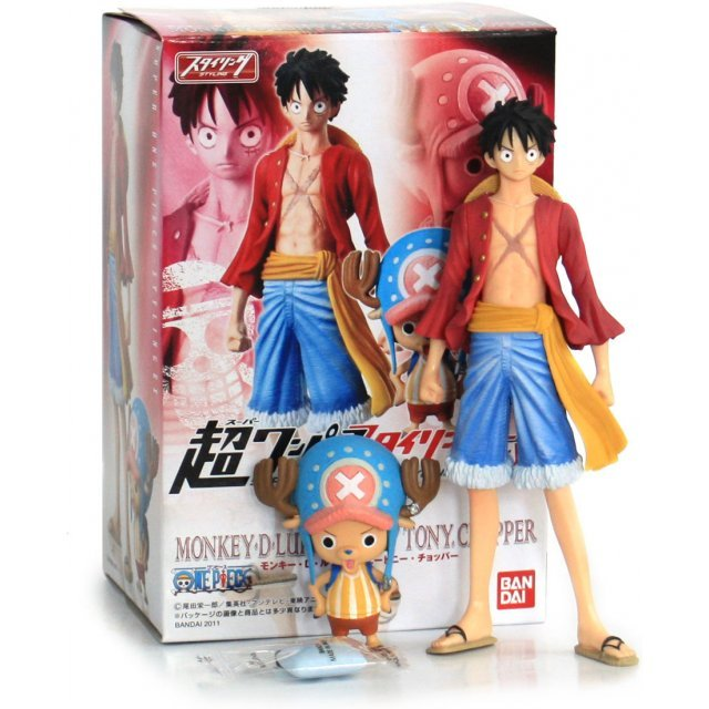Super One Piece Styling EX Gigantic Pre-Painted Candy Toy