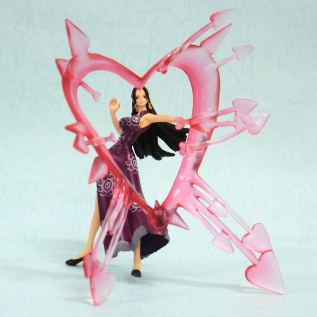 One Piece Super Effect Seven Warlords of The Sea Vol.1 Pre-Painted PVC Figure: Boa Hancock