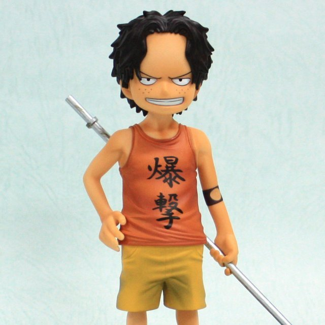 One Piece The Grandline Children  Vol. 2 Pre-Painted PVC Figure: Portgas D. Ace