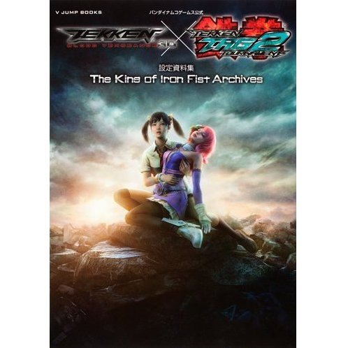 Tekken Tag Tournament 2 And Blood Vengeance Art Book The King Of Iron Fist Archives