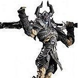 World of Warcraft Series 8 Pre-Painted Action Figure: Argent Nemesis The Black Knight