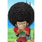 One Piece World Collectable Pre-Painted PVC Figure Vol.21: TV171 - Monkey D. Luffy