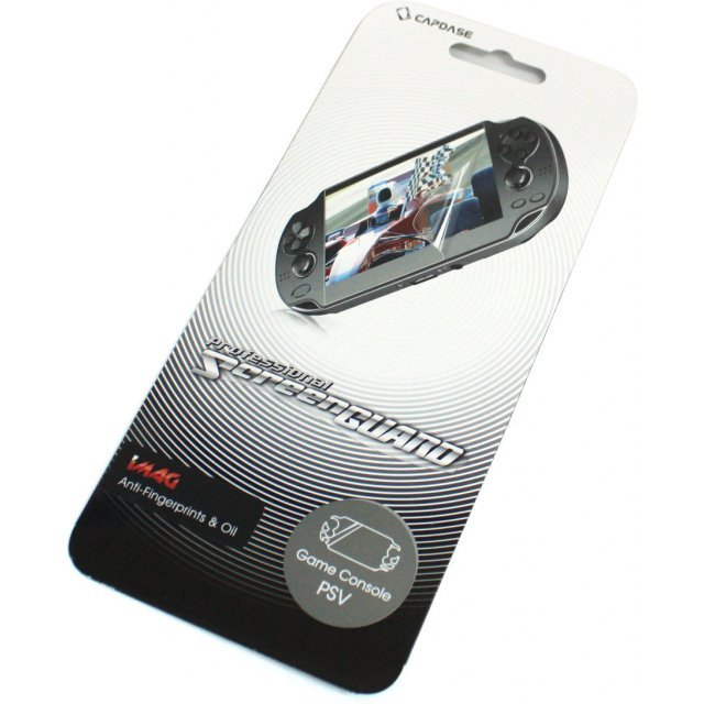 Capdase Imag Professional Screenguard (Anti-Fingerprint + Oil) Full Cover PS Vita