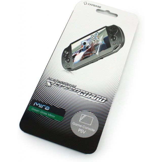 Capdase Mira Professional Screenguard (Green Glass Mirror) Screen Only PS Vita