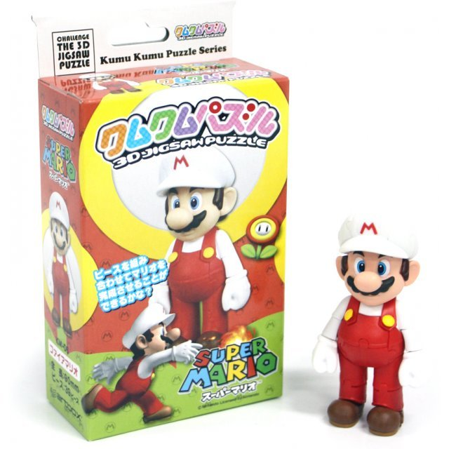 Nintendo Characters 3D Jigsaw Puzzle: Fire Mario