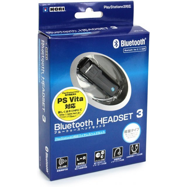 Hori Bluetooth Headset 3 (PS3 and PS Vita)