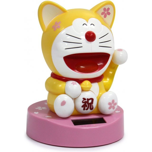 Doraemon Solar Power Figure: Doraemon Yellow Ver.