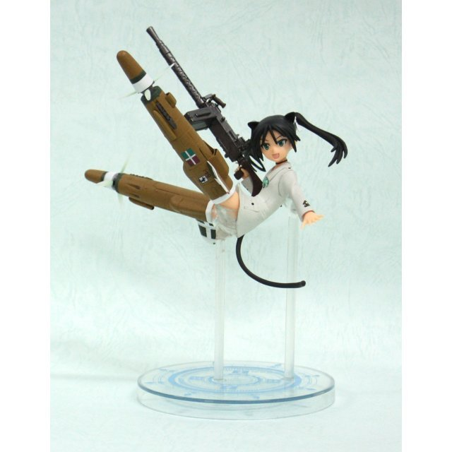 Strike Witches Non Scale Pre-Painted PVC Figure Vol. 5 : Francesca Lucchini