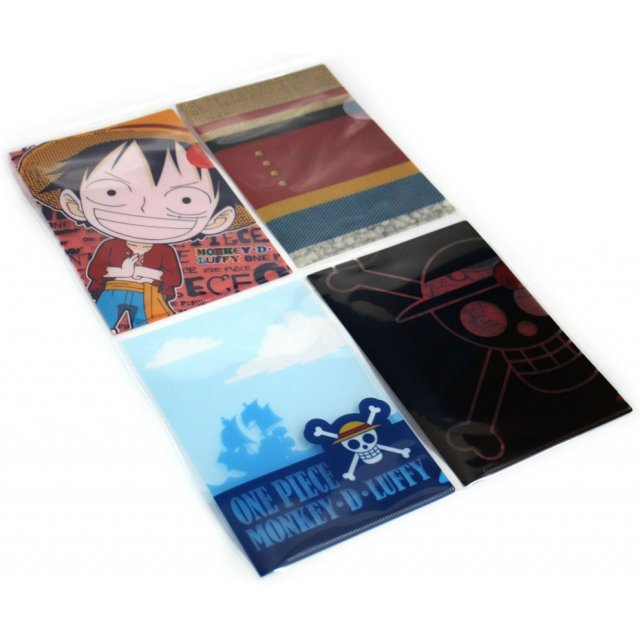 One Piece Ichiban Kuji Clear Files Set (4 files)