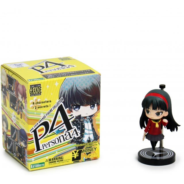 One Coin Grande Collection Persona 4 Pre-Painted PVC Trading Figure (Re-Run)