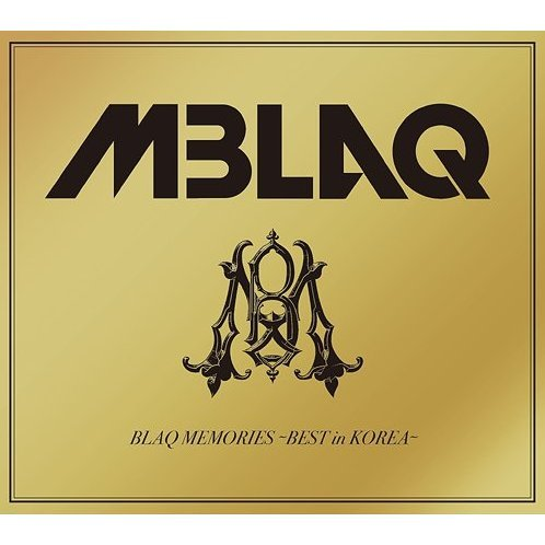 Blaq Memories - Best In Korea [Limited Edition Type B]