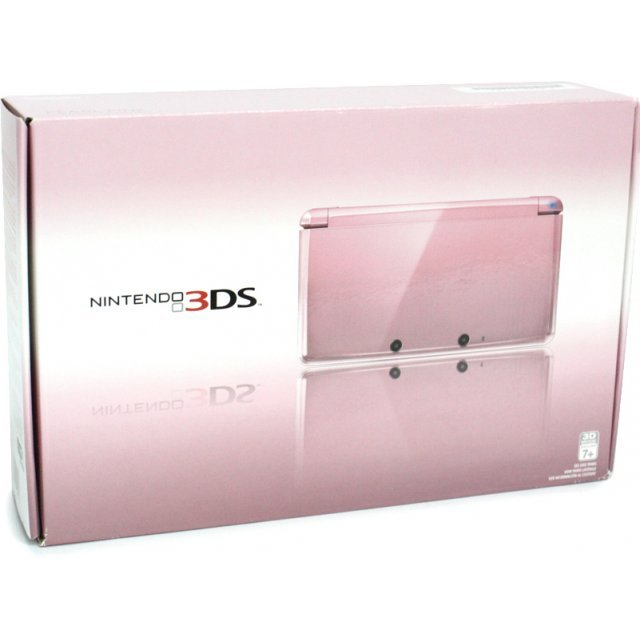 Nintendo 3DS (Pearl Pink)
