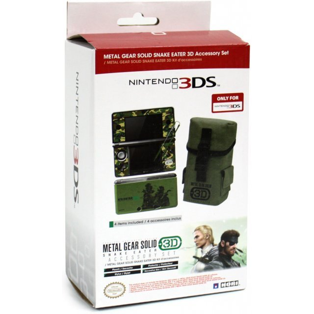 Metal Gear Solid: Snake Eater 3D (Accessory Set)