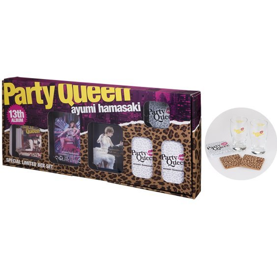 Party Queen Special Limited Box Set [CD+2DVD+Blu-ray Limited Edition]
