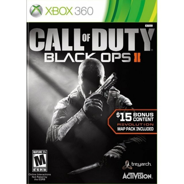 Call of Duty: Black Ops II (Comes with Revolution Map Pack)