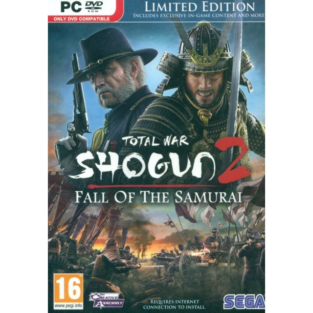 Total War: Shogun 2 - Fall of the Samurai (Limited Edition) (DVD-ROM)