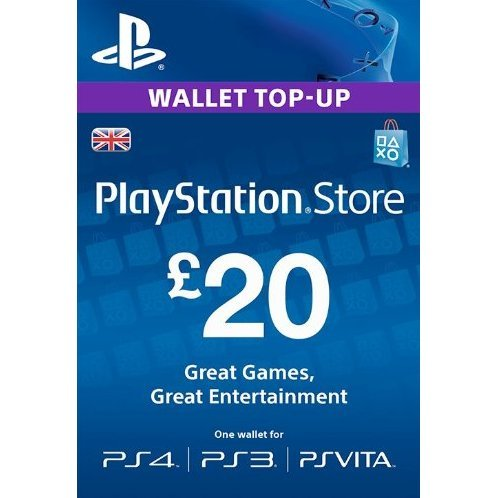 Playstation Network Card 20 GBP | UK Account