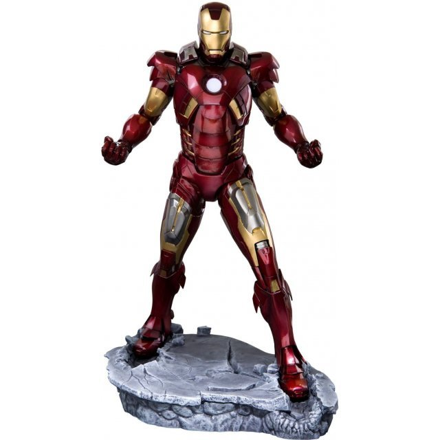 Iron Man 2 ARTFX 1/6 Scale Pre-Painted PVC Statue: Iron Man (Mark VII)