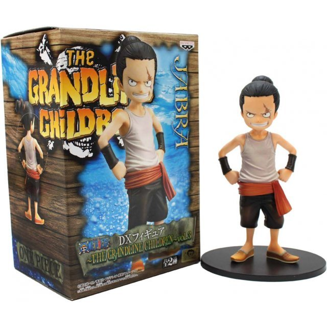 One Piece The Grandline Children  Vol. 3 Pre-Painted PVC Figure: Jabra