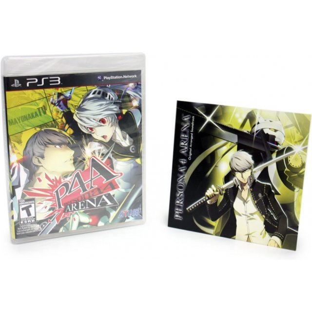 Persona 4 Arena (w/ Soundtrack CD)