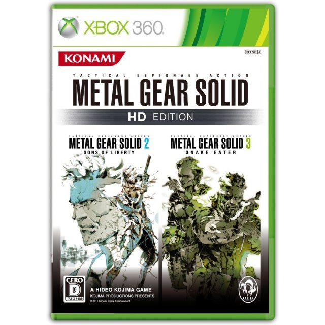 Metal Gear Solid HD Edition (damage case)