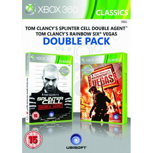 Tom Clancy's Splinter Cell Double Agent & Rainbow Six Vegas Double Pack (Classics)