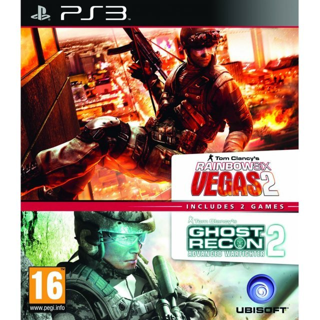 Tom Clancy's Rainbow Six Vegas 2 & Ghost Recon Advanced Warfighter 2 Double Pack
