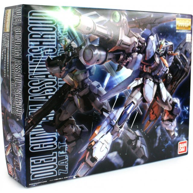 Gundam 1/100 Scale Model Kit: Duel Gundam Assault Shroud (MG)