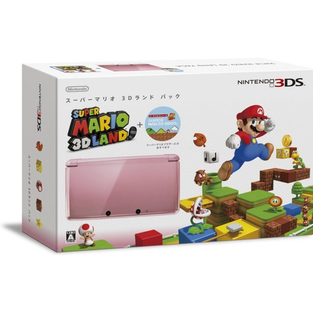 Nintendo 3DS (Super Mario 3D Land Pink Edition)