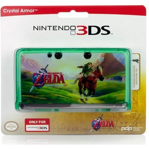 Nintendo 3DS Zelda Crystal Armor Case (Green)