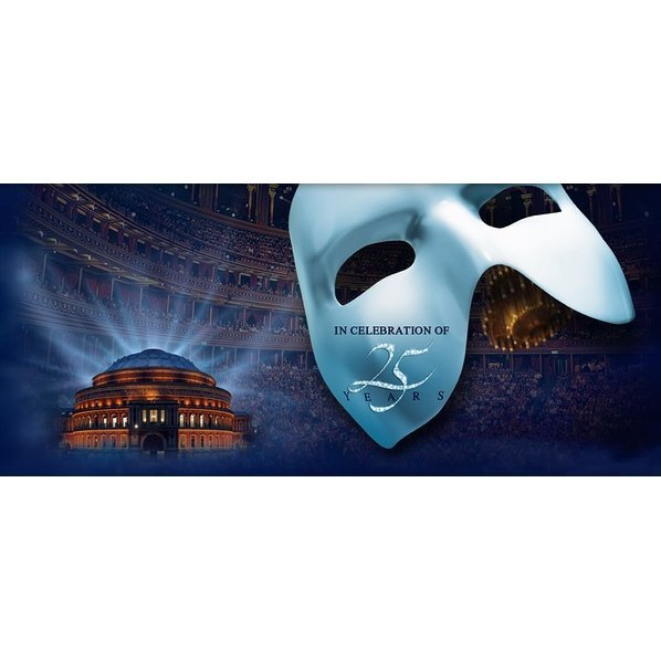 The Phantom of the Opera: At the Royal Albert Hall 25th Anniversary + Andrew Lloyd Webber's Love Never Dies [2DVD]